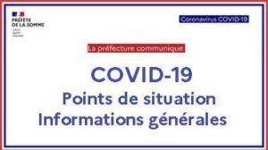 Préfecture point presse coronavirus